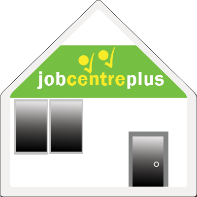 Job Centre plus as a house