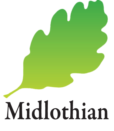 midlothian council leaf logo