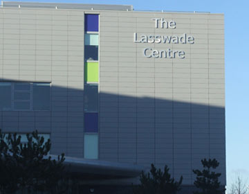 Front of Lasswade High Scool