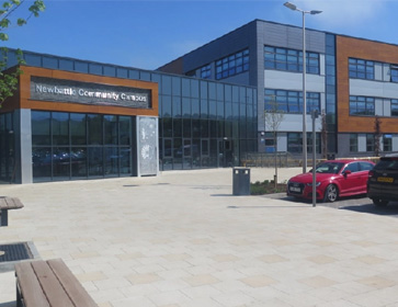 Image of the Mayfield Leisure centre