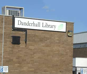 Image of the front of Danderhall library