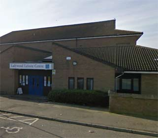 Image of Ladywood Leisure Centre, Penicuik entrance
