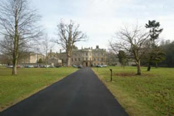 Image of Newbattle Abbey College, Newbattle road, Dalkeith, EH22 3LL main drive