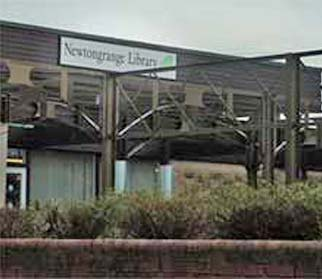 Image of Newtongrange Library from the Main street