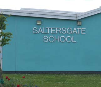 Image of the entrance to Saltergate special needs School